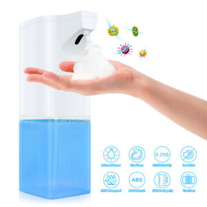 350ml Touchless Soap Dispenser Automatic Induction Liquid Foam Washer Bathroom