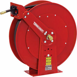 Reelcraft Pressure Washer Hose Reel- 5000 PSI 38in x 100ft Cap PW81000 OHP