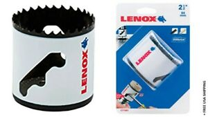 LENOX 2-1/2-in Bi-Metal Non-Arbored Hole Saw Model 2060596 New-Open/Damaged Box