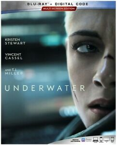 Underwater New Blu ray Dolby Digital Theater System Subtitled Widescreen $23.08