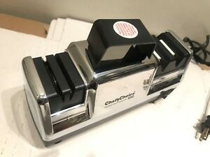 Chefs Choice Electric Knife Sharpener 3 stage Diamond Hone Knives Sharpener