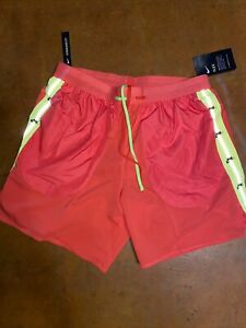 "Nike Flex Wild Run 7"" Running Shorts Ember Glow Pink Reflective Men's Size Large $64.98"