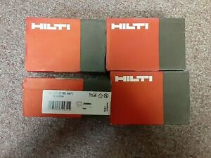 Lot of 4 Hilti X U 16MX 237344 Premium Collated Fasteners Nails Free Shipping