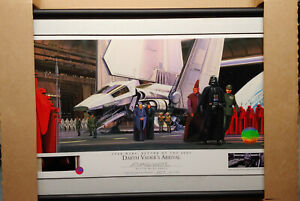 STAR WARS WILLITTS RALPH MCQUARRIE SIGNED LITHOGRAPH DARTH VADERS ARRIVAL NEW AP $399.99