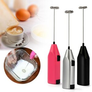 Milk Drink Coffee Whisk Mixer Electric Egg Beater Frother Foamer Mini Handle