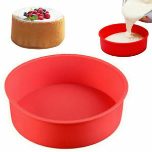 Cake Mold Silicone Round Bread Muffin Pan Bakeware Mould Bake Tray Kitchen Tools