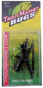 Trout Magnet Bugs Small Hellgrammite