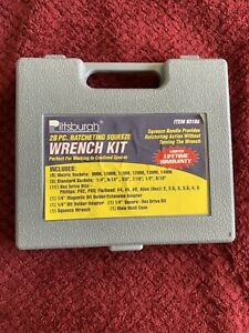Pittsburgh 28 piece Ratcheting Squeeze Wrench kit