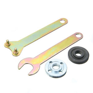 4pcs Replacement Metal Angle Grinder 100 Lock Flange Nut w Spanner Wrench 2020 $6.91