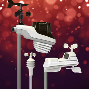 AcuRite EXTENSION POLE MAST MOUNT 5 In 1 Pro Atlas Color HD Weather Station NEW