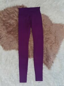Lululemon Wunder Under Low Rise Purple Luon 30quot; Size 2 $35.00