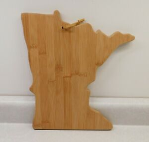 Totally Bamboo State Cutting & Serving Board Minnesota