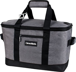 Collapsible Cooler Bag Insulated Leakproof 50 Can Soft Sided Portable Cooler Bag