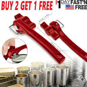Professional Manual Can Opener Safe Cut Lid Smooth Edge Side Stainless Steel TW