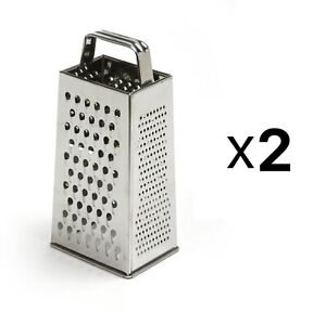 Norpro 4-Sided Stainless Steel Box Cheese Carrot Food Grater 8.25