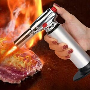 Micro Cooking Torch Lighter Kitchen Craft Cooking Baking Blow torch BBQ Outdoor $14.73