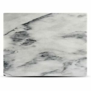 Marble Pastry Board 16x12 With Rubber Feet, For Cheese, Chocolate And Dough