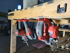 5x Heavy Duty Milwaukee M18 Power Tool Slide-On Slot Storage Mount Hanger Holder