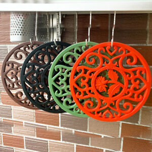 Silicone Pot Mat Tea Cup Holder Heat Resistant Kitchen Tool Spoon Rest Non Slip