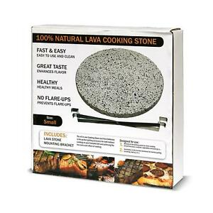 Volcanic Lava Pizza Cooking Stone Heat Deflector Dual Purpose Cooking Surface