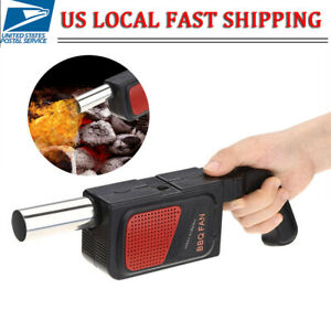 New Outdoor Hand Crank Barbecue Fan Air Blower Cooking BBQ Briquets Fire Bellows