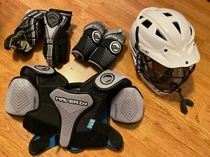 Lacrosse Youth Cascade Helmet And Maverick Pads $49.99