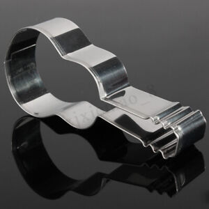 Stainless Steel Guitar Cookie Cake Biscuit Pastry Cutter Fondant  Mould  USA