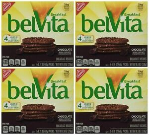 belVita Chocolate Breakfast Biscuits Pack of 4