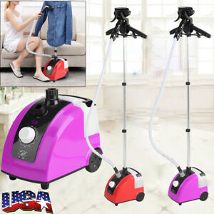 Fabric Iron Steam Wrinkle Laundry Clothes Standing Garment Steamer Portable USA