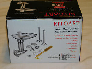 Kitoart Mixer Meat & Food Grinder Attachment For All KitchenAid Stand Mixers