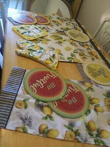 Lemon Kitchen Decor Lot