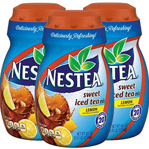 Nestea Sweet Iced Tea Mix - Lemon Naturally Flavored - 45.1oz (Pack of 3)