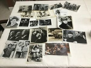 Vintage Lot of B W Celebrity and Movie Stills 8x10 100 photos