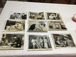 Vintage Lot of B W Celebrity and Movie Stills 8x10 9 photos