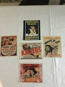 Vintage Lot of 5 Movie Stills 8x10 photos