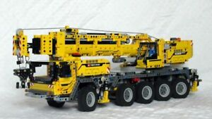 LEGO 42009 Technic Mobile Crane MK II Retired Complete Set