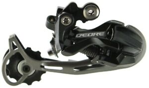 Shimano Deore RD M592 9 Speed Mountain Bike Rear Long Cage Derailleur Mech NEW