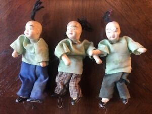 Vintage Chinese Dolls Set of 3 $10.00