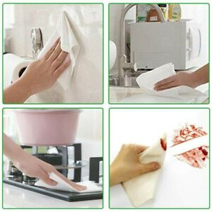 Bamboo Fiber Cleaning Dish Cloth Wash Towel Double Layer Reuseable (6 pack)