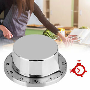 New 1Hr/60Min Mechanical Timer Kitchen Cooking Count Down Counter Alarm Tool