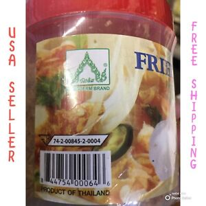 Fried garlic 3.5oz ( 100g ) crispy, make food smell best.it is from Thailand.