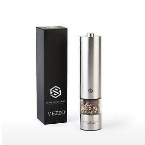 Meezo Electric Salt, Pepper And Spice Grinder