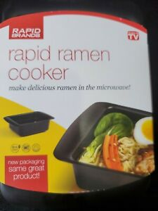 Rapid Ramen Cooker | Microwave Ramen in 3 Minutes | Perfect for Dorm, Small