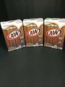 Aamp;W Root Beer Drink Mix Singles to Go Sugar Free 3 box 18 sticks.30MAR.2022