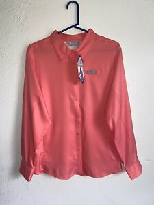 Free Country Outdoor Women#x27;s Long Sleeve Button Up Shirt Multicolor