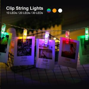 Photo Clip Holder Led String Lights For Christmas New Year Party Wedding Home De