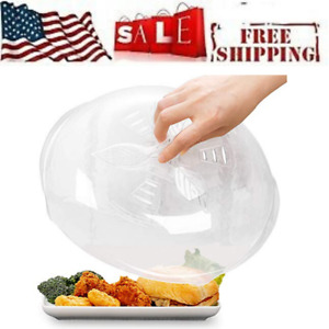 Microwave Plate Cover for Food Splatter Guard Anti-Splatter Plate Lid 11.8 Inch
