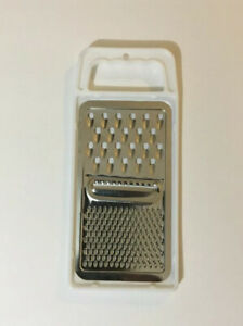 1pc UNIVERSAL GRATER BRIGHT PLATED STEEL DISHWASHER SAFE FOR GRATING, SLICING