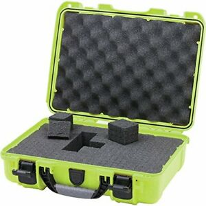 Nanuk 910 Waterproof Hard Case with Foam Insert Lime