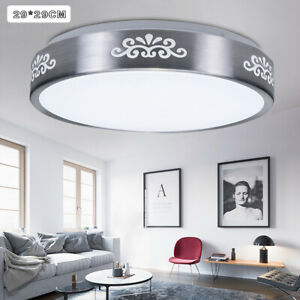 12W LED Recessed Ceiling Light Modern Fixture Round Mount Lamp Bedroom   @3$